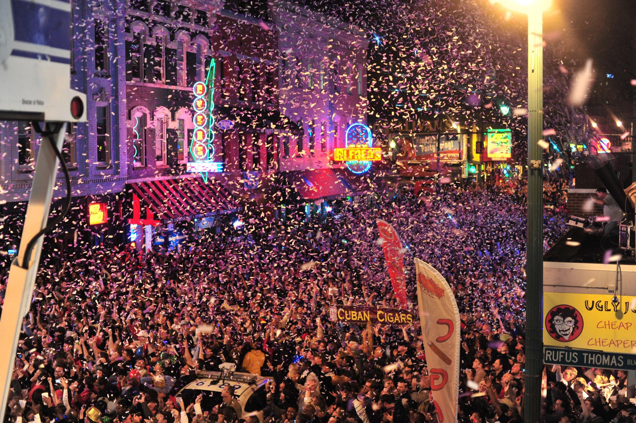 Beale Street New Years Eve