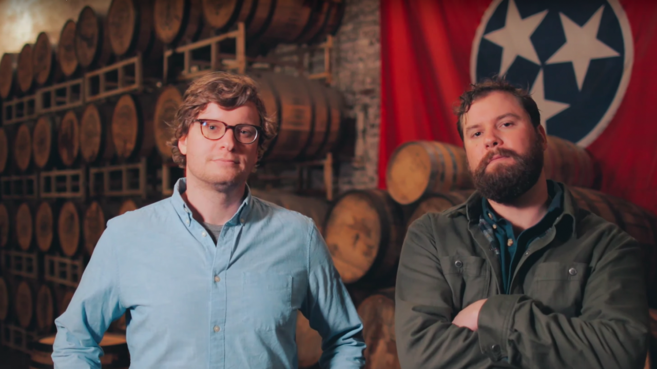 The owners of Nelson's Green Brier Distillery in Nashville, Tennessee