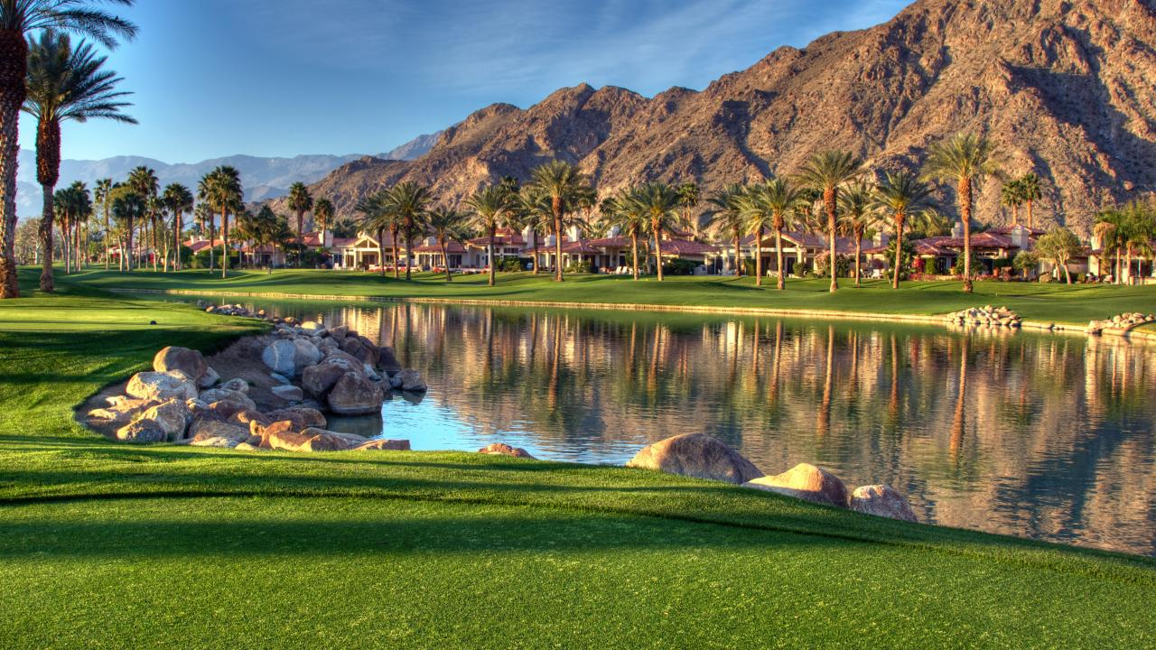 A luxury resort in Palm Springs, California