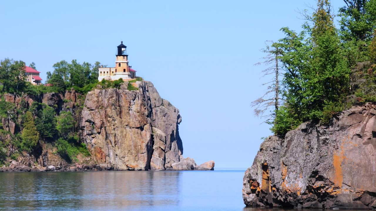 Split Rock Lighthouse in Two Harbors, Minnesota
