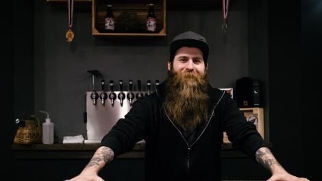 Denver bartender at the Black Project