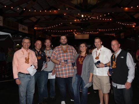 Attendees at the Bardstown Craft Beer Festival